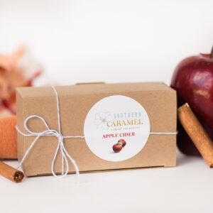 Apple Cider Caramel in a box