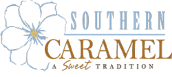 Southern Caramel A Sweet Tradition vector logo
