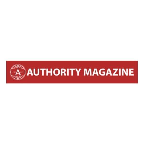 Authority Magazine red logo